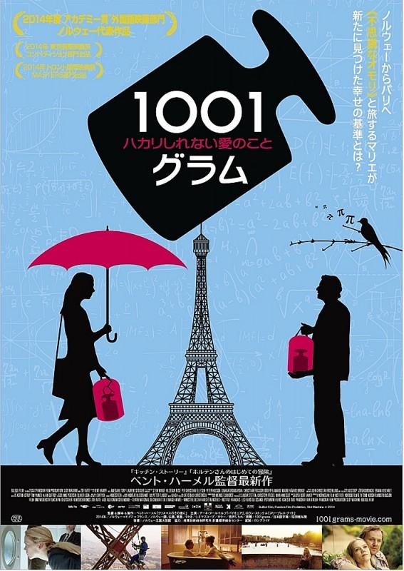 映画「1001グラム ハカリしれない愛のこと」