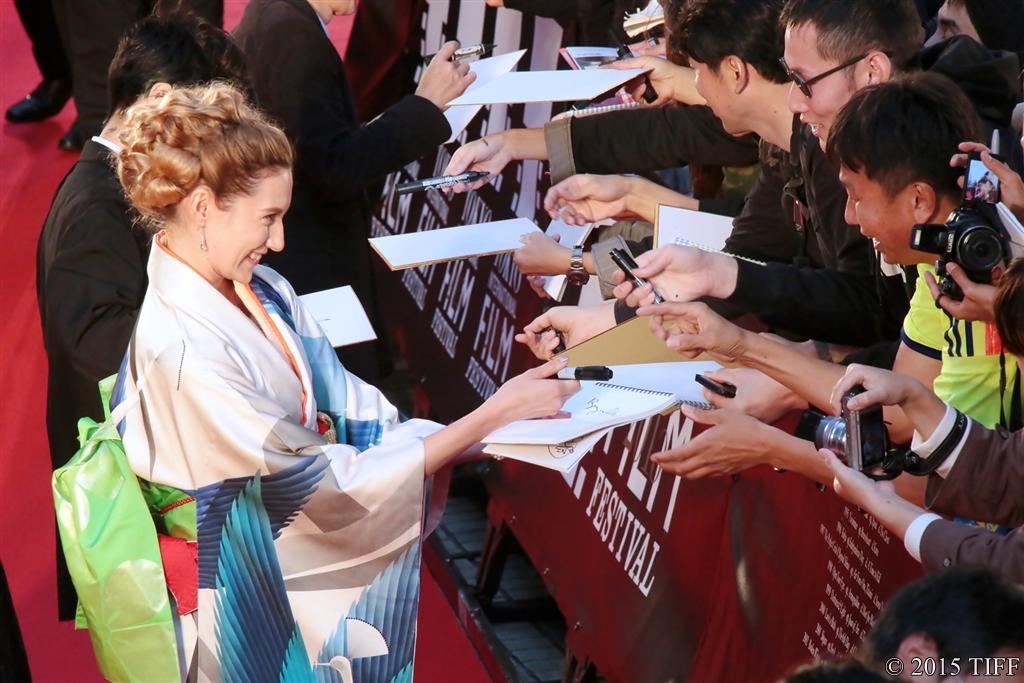 【写真】第28回 東京国際映画祭(TIFF) レッドカーペット (ブライアリー・ロング)