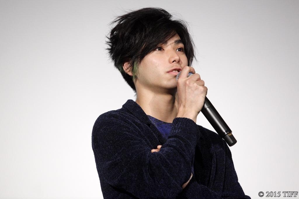 【写真】第28回 東京国際映画祭(TIFF) 映画『さようなら』舞台挨拶 (村上虹郎)