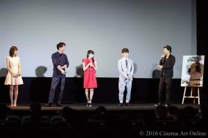 映画 桜ノ雨 公開初日舞台挨拶