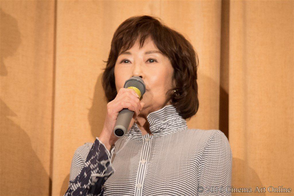 【写真】映画『海すずめ』公開初日舞台挨拶 (吉行和子)