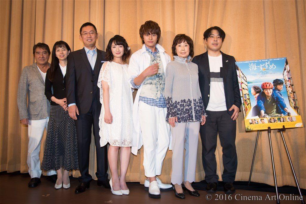 映画 「海すずめ」 公開初日舞台挨拶