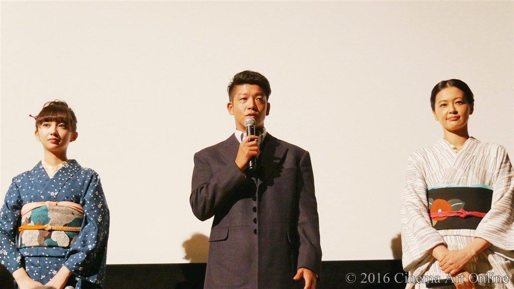 【写真】映画『夢二~愛のとばしり』公開初日舞台挨拶 (小宮有紗、駿河太郎、黒谷友香)