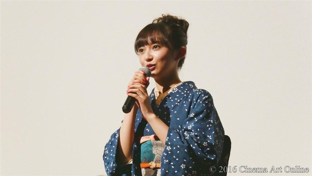 【写真】映画『夢二~愛のとばしり』公開初日舞台挨拶 (小宮有紗)