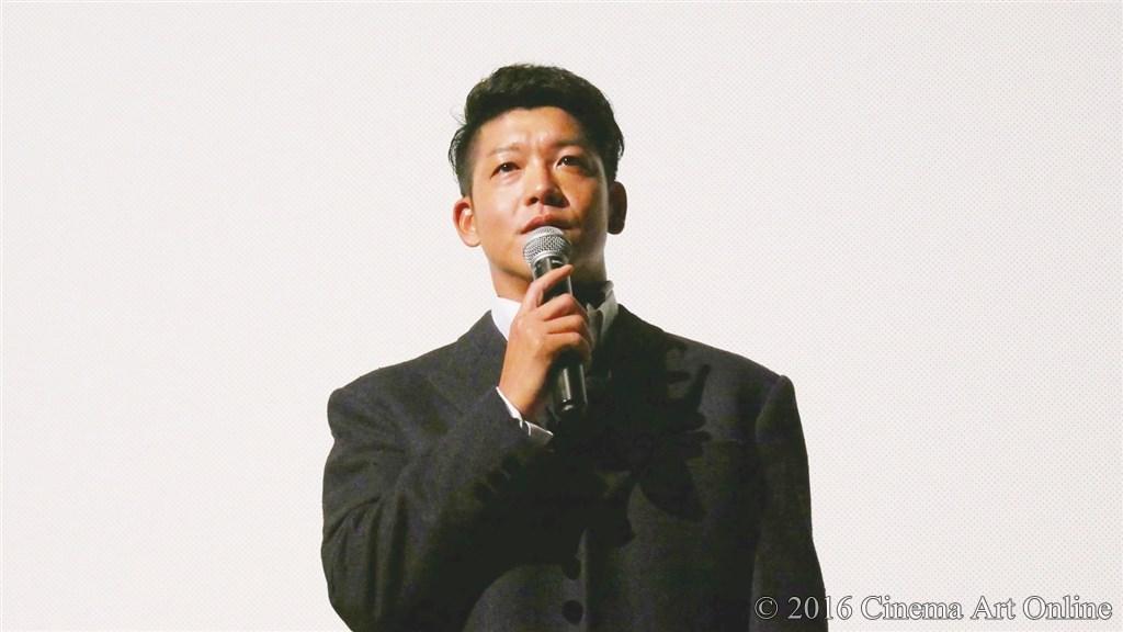 【写真】映画『夢二~愛のとばしり』公開初日舞台挨拶 (駿河太郎)