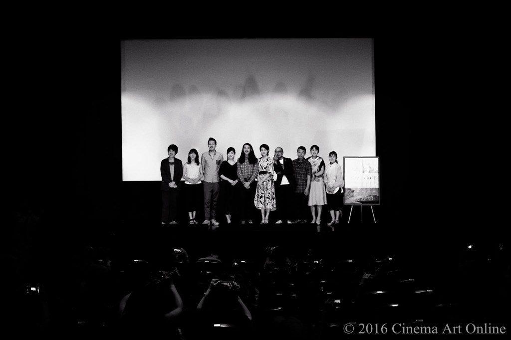 映画 「アルビノの木」 テアトル新宿 公開初日舞台挨拶