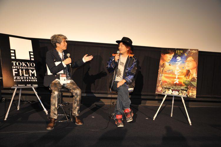 第28回 東京国際映画祭(TIFF) Japan Now 部門 映画 「ラブ&ピース」 LOVE & PEACE 園子温監督 Q&A