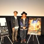 【写真】第28回 東京国際映画祭(TIFF) Japan Now 部門 映画 「ラブ&ピース」 LOVE & PEACE 園子温監督 Q&A (園子温監督、安藤紘平プログラミングディレクター)