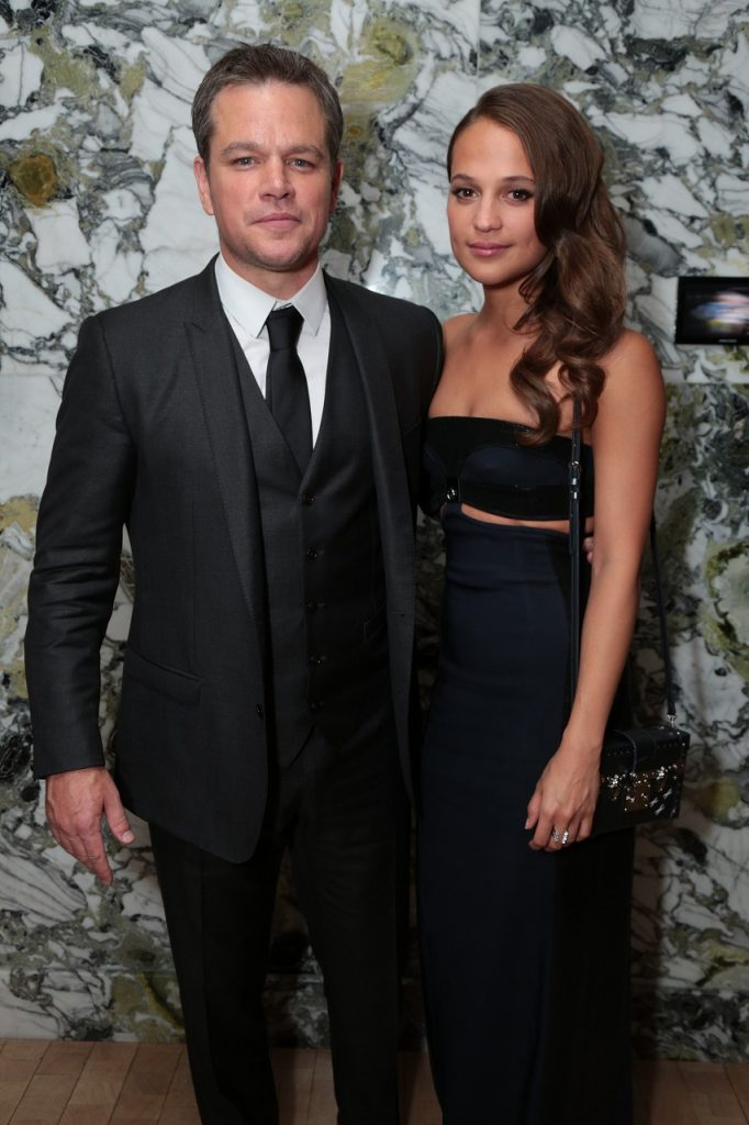 【写真】映画 『ジェイソン・ボーン』(原題: JASON BOURNE) ラスベガスプレミア (Matt Damon & Alicia Vikander)