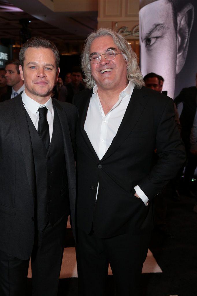 映画 「ジェイソン・ボーン」 ラスベガスプレミア Matt Damon & Paul Greengrass