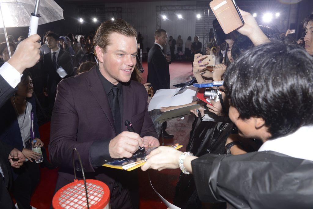 映画 ジェイソン・ボーン マットデイモン Matt Damon