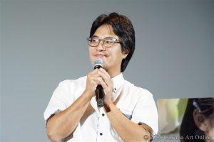 映画 「絶壁の上のトランペット」 公開初日舞台挨拶 ハン・サンヒ監督