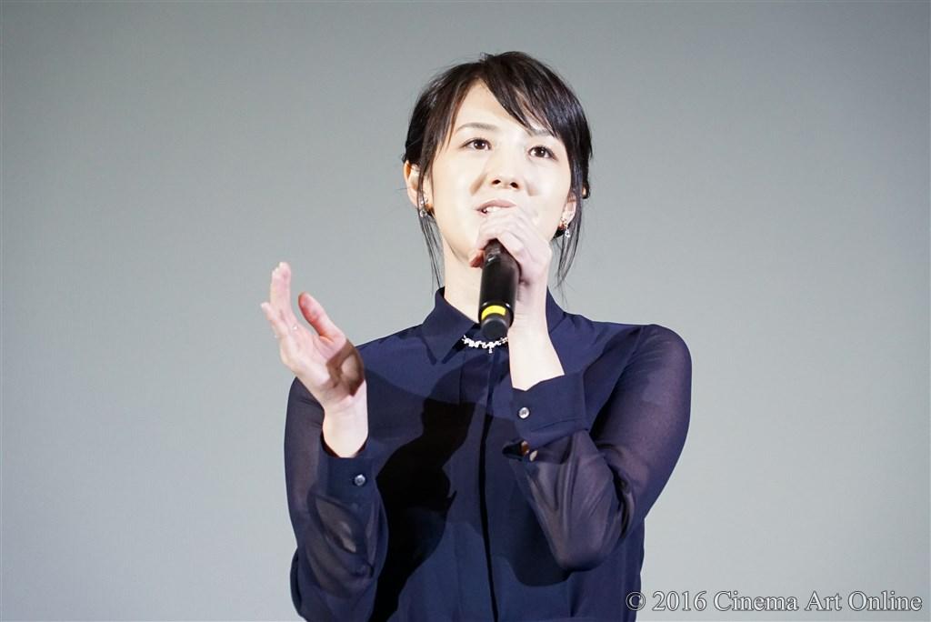 【写真】映画『絶壁の上のトランペット』公開初日舞台挨拶 (桜庭ななみ)