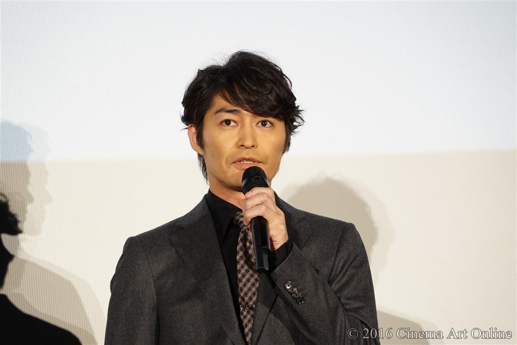 【写真】映画『聖の青春』完成披露試写会舞台挨拶 (安田顕)