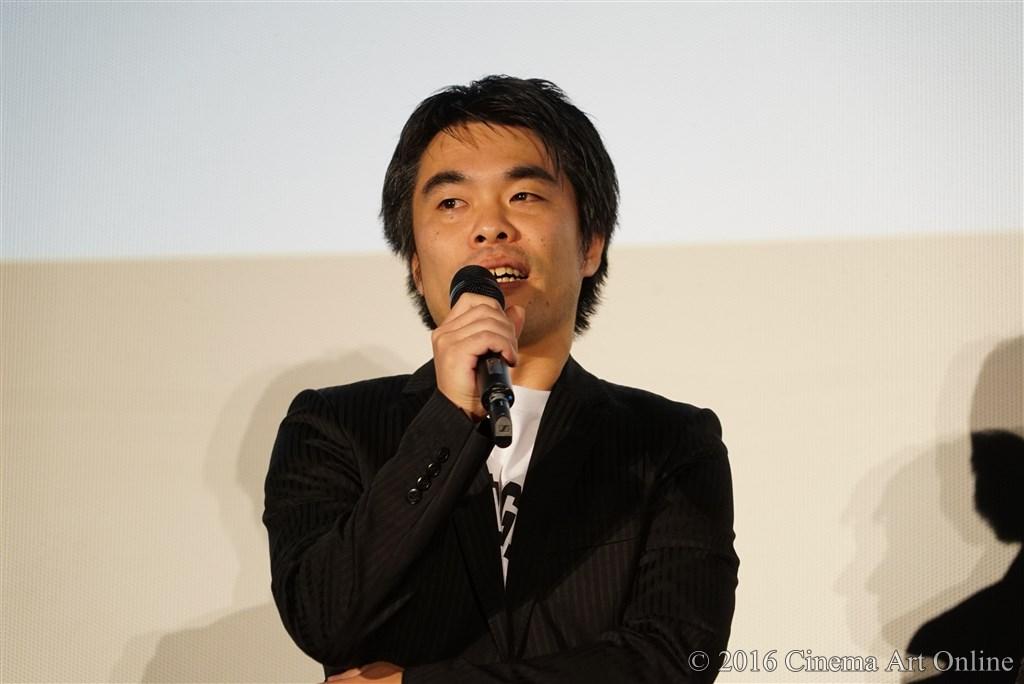【写真】映画『聖の青春』完成披露試写会舞台挨拶 (森義隆監督)