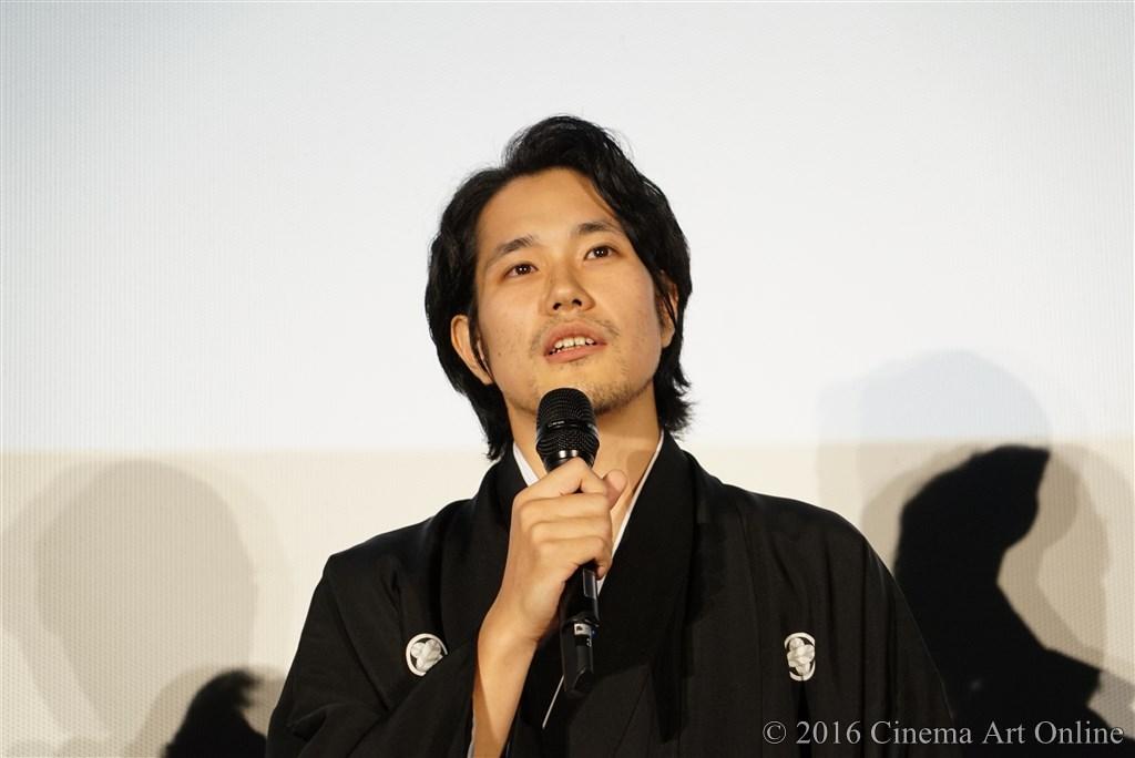 【写真】映画『聖の青春』完成披露試写会舞台挨拶 (松山ケンイチ)