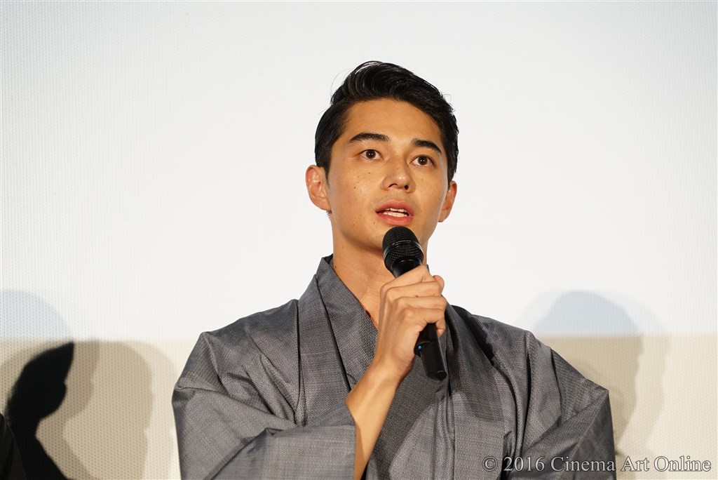 【写真】映画『聖の青春』完成披露試写会舞台挨拶 (東出昌大)