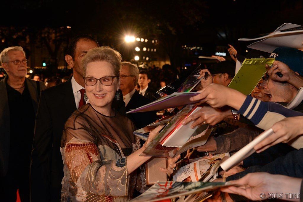 第29回 東京国際映画祭(TIFF) オープニングレッドカーペット メリル・ストリープ