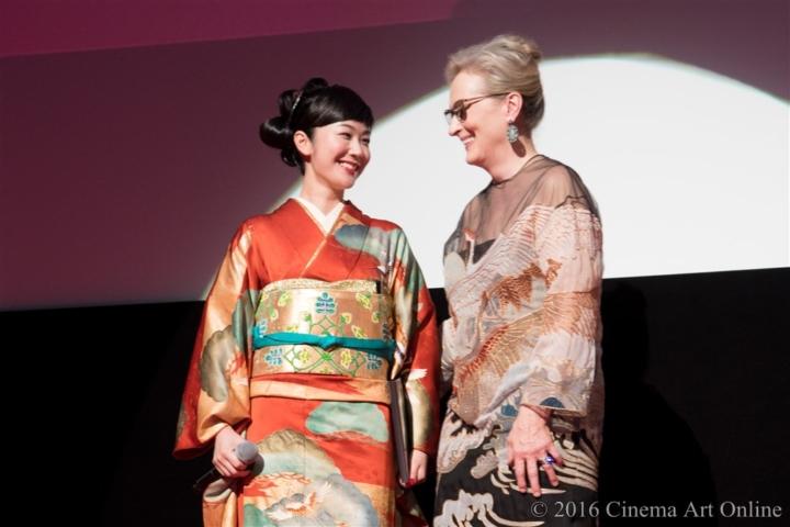第29回 東京国際映画祭(TIFF) オープニングセレモニー メリル・ストリープ 黒木華