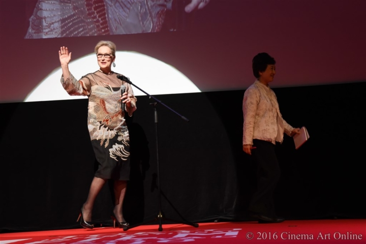 第29回 東京国際映画祭(TIFF) オープニングセレモニー メリル・ストリープ