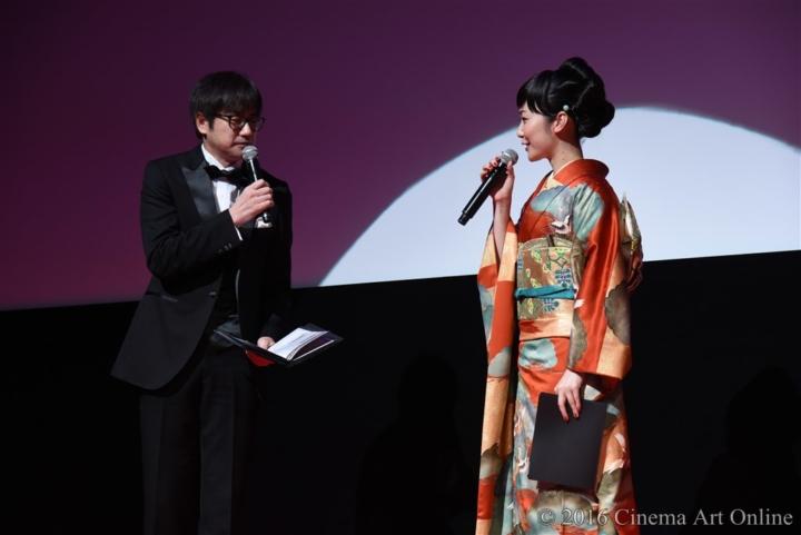 第29回 東京国際映画祭(TIFF) オープニングセレモニー 羽鳥慎一アナウンサー 黒木華