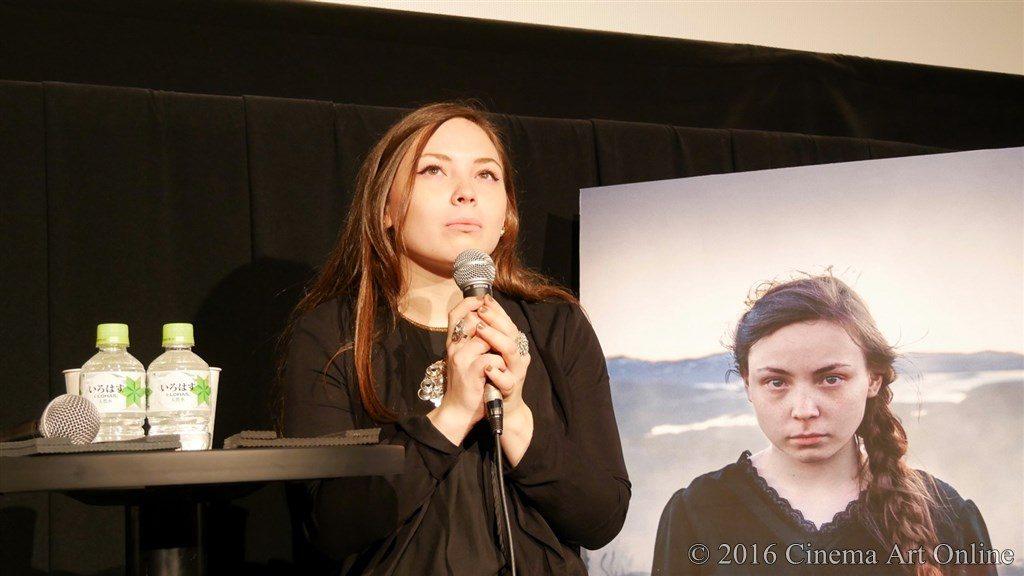 第29回 東京国際映画祭「サーミ・ブラッド」 記者会見 レーネ=セシリア・スパルロク