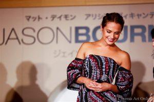 映画 「ジェイソン・ボーン」 アリシア・ヴィキャンデル初来日記念イべント