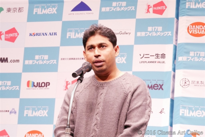 第17回 東京フィルメックス/TOKYO FILMeX 2016 授賞式 サンジーワ・プシュパクマーラ