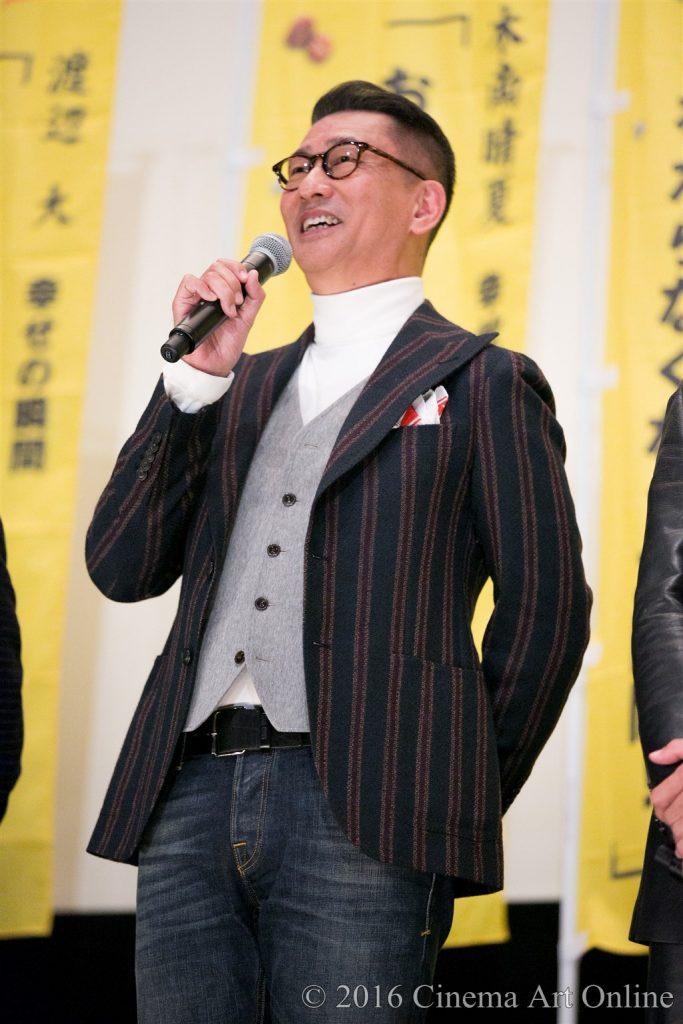 【写真】映画『幸福のアリバイ~Picture~』公開初日舞台挨拶 (中井貴一)