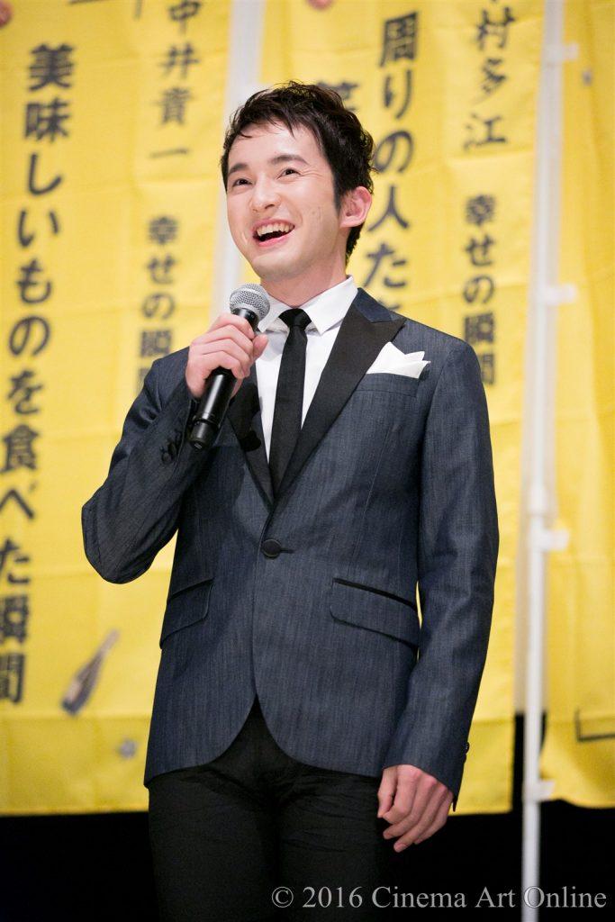 【写真】映画『幸福のアリバイ~Picture~』公開初日舞台挨拶 (浅利陽介)