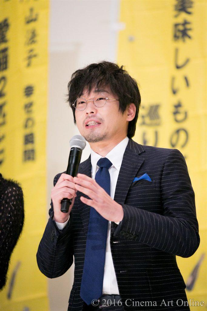 【写真】映画『幸福のアリバイ~Picture~』公開初日舞台挨拶 (山崎樹範)