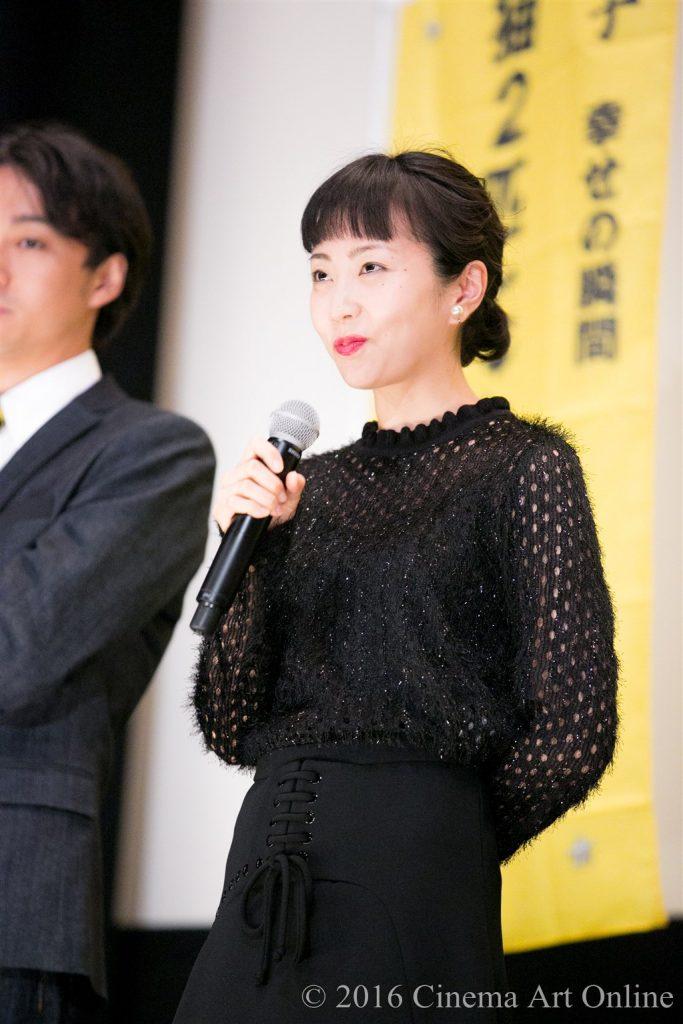 【写真】映画『幸福のアリバイ~Picture~』公開初日舞台挨拶 (木南晴夏)