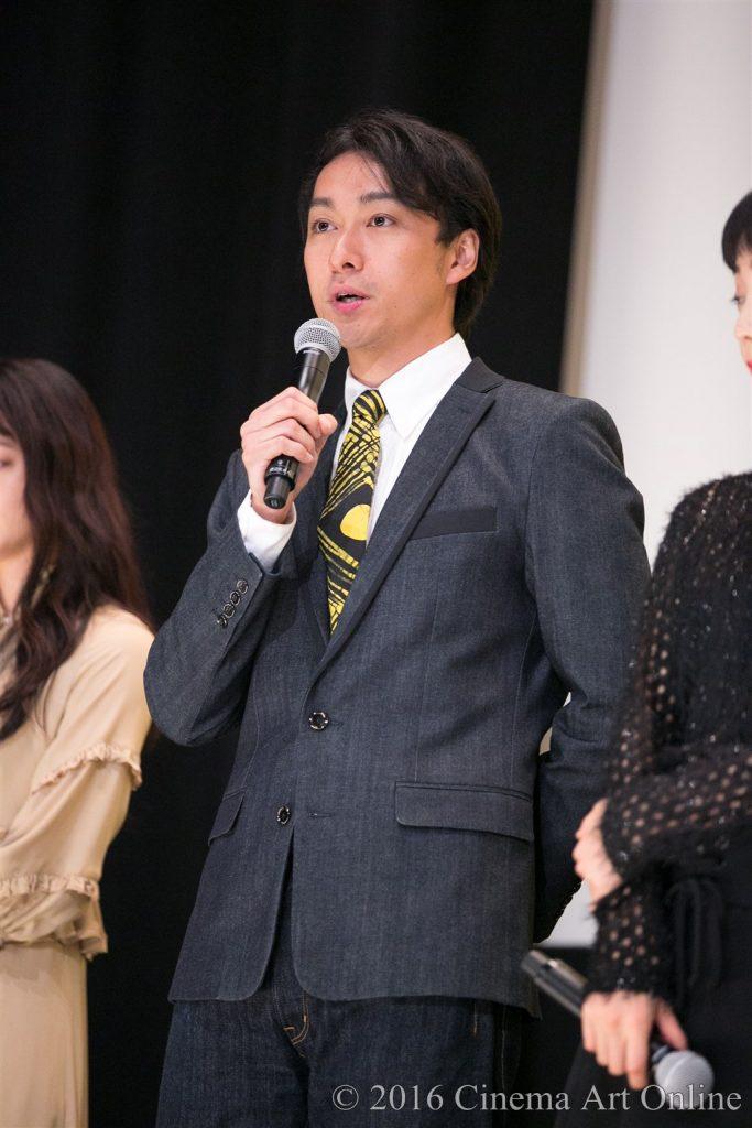 映画『幸福のアリバイ~Picture~』公開初日舞台挨拶 (渡辺大)