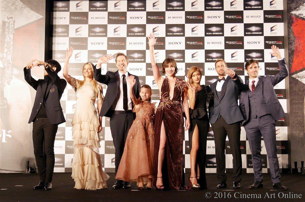 【写真】映画『バイオハザード:ザ・ファイナル』ワールドプレミア レッドカーペットイベント
