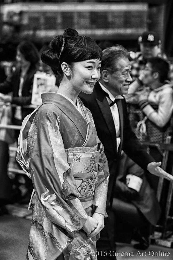 第29回 東京国際映画祭(TIFF) レッドカーペット (Red Carpet × Gray Art Photography) 黒木華 (くろき はる)