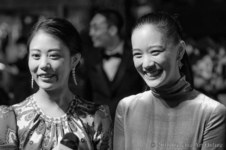 第29回 東京国際映画祭(TIFF) レッドカーペット (Red Carpet × Gray Art Photography) 高畑充希 蒼井優
