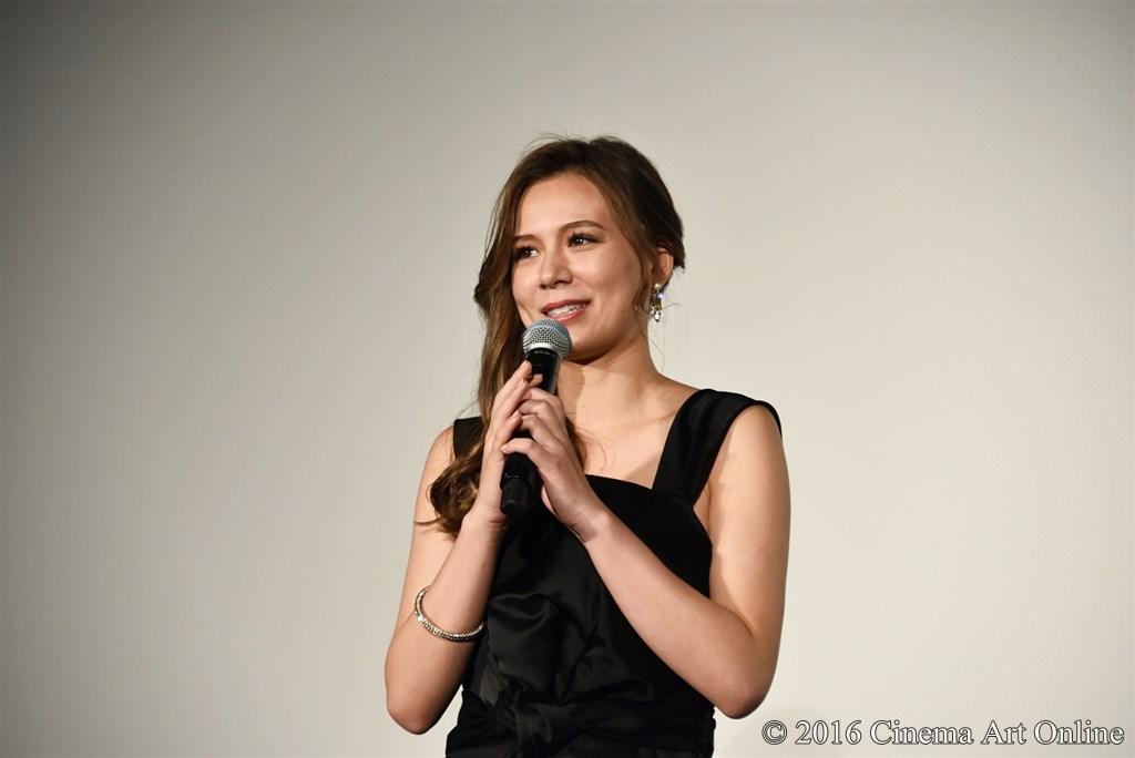 第29回 東京国際映画祭(TIFF) 特別上映 「GANTZ:O <プレミア英語吹替版>」 舞台挨拶 英里子