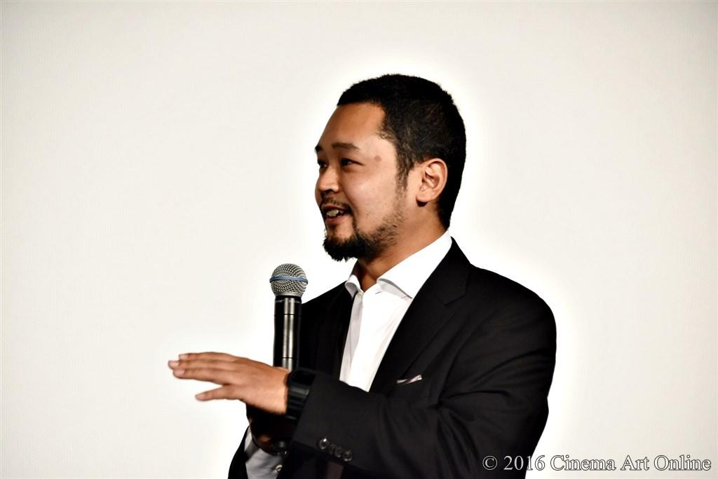 第29回 東京国際映画祭(TIFF) 特別上映 「GANTZ:O <プレミア英語吹替版>」 舞台挨拶 川村泰監督
