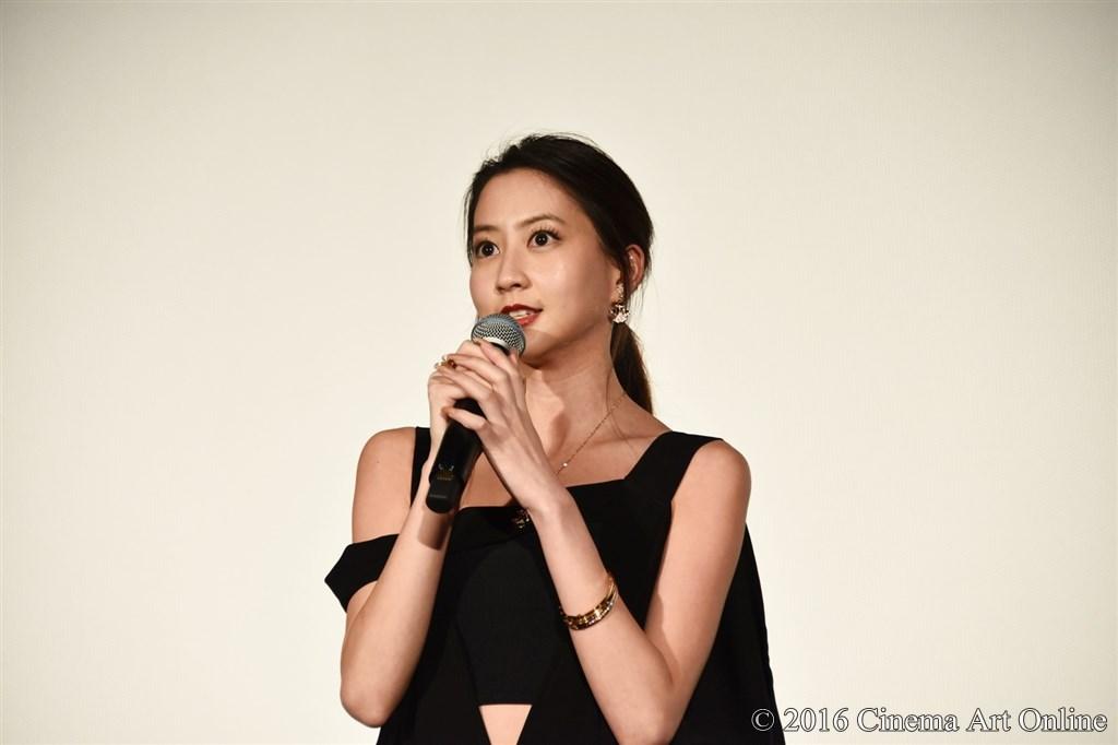 第29回 東京国際映画祭(TIFF) 特別上映 「GANTZ:O <プレミア英語吹替版>」 舞台挨拶 河北麻友子