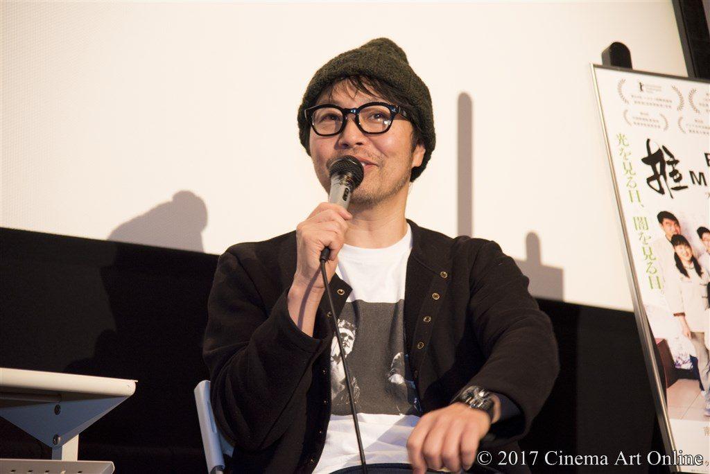 映画 「ブラインド・マッサージ」 公開初日トークイベント サニーデイ 曽我部 恵一