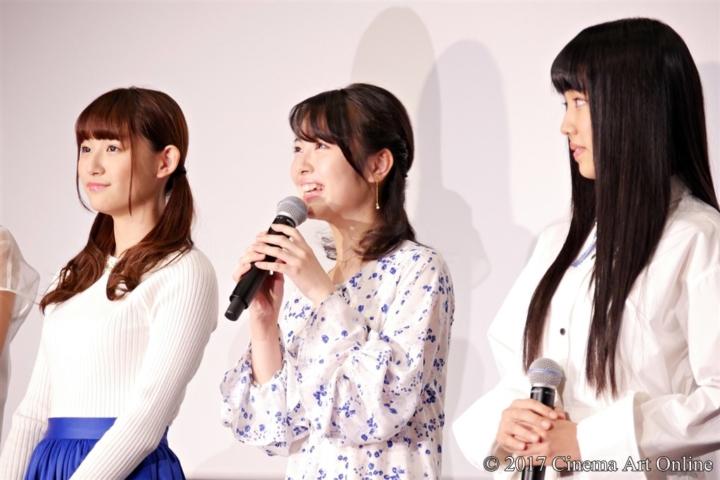 劇場版 「咲-Saki-」 完成披露上映会 舞台挨拶 浜辺美波