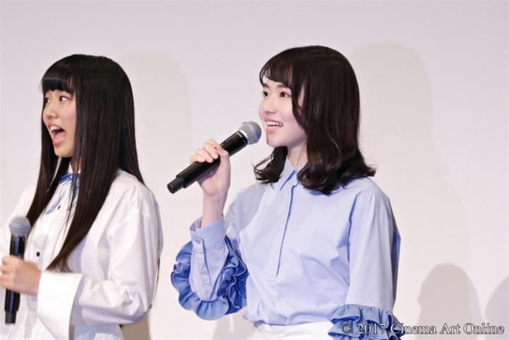 劇場版 「咲-Saki-」 完成披露上映会 舞台挨拶 山田杏奈