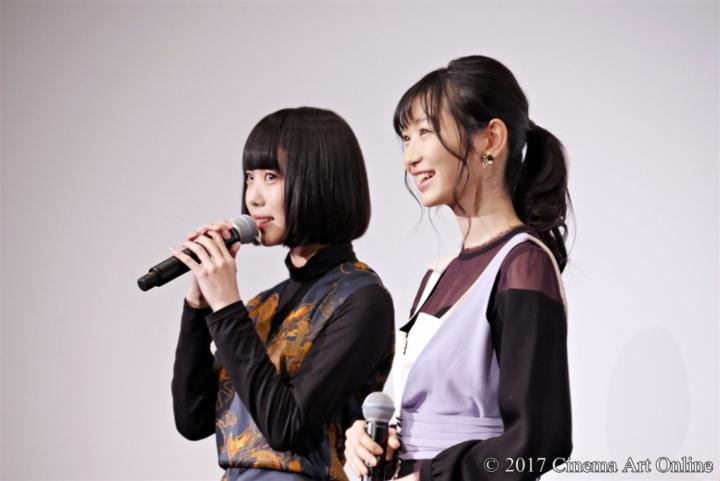 劇場版 「咲-Saki-」 完成披露上映会 舞台挨拶 あの (ゆめるモ!)