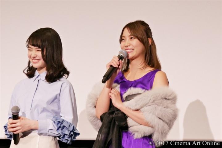 劇場版 「咲-Saki-」 完成披露上映会 舞台挨拶 永尾まりや