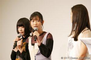 劇場版 「咲-Saki-」 完成披露上映会 舞台挨拶 岡本夏美
