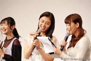 劇場版 「咲-Saki-」 完成披露上映会 舞台挨拶 古畑星夏 浅川梨奈