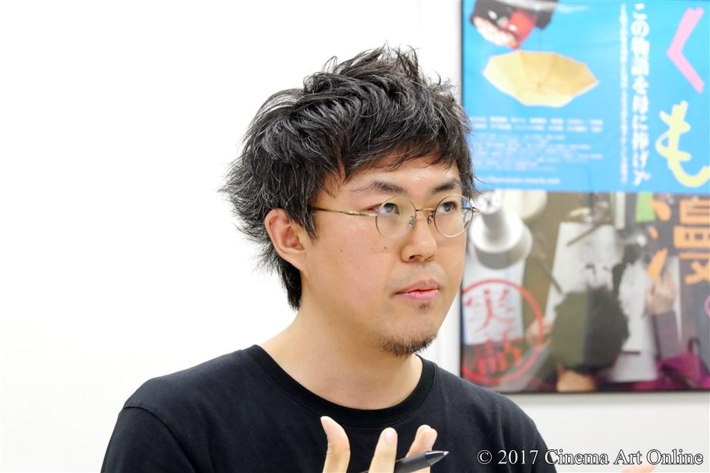 映画 「くも漫。」 原作者 中川学