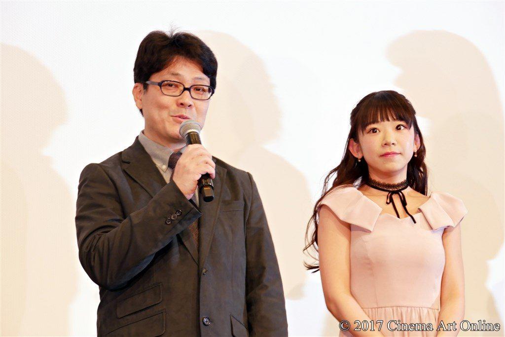 映画 「咲-Saki-」 公開記念舞台挨拶 小沼雄一監督 長澤茉里奈