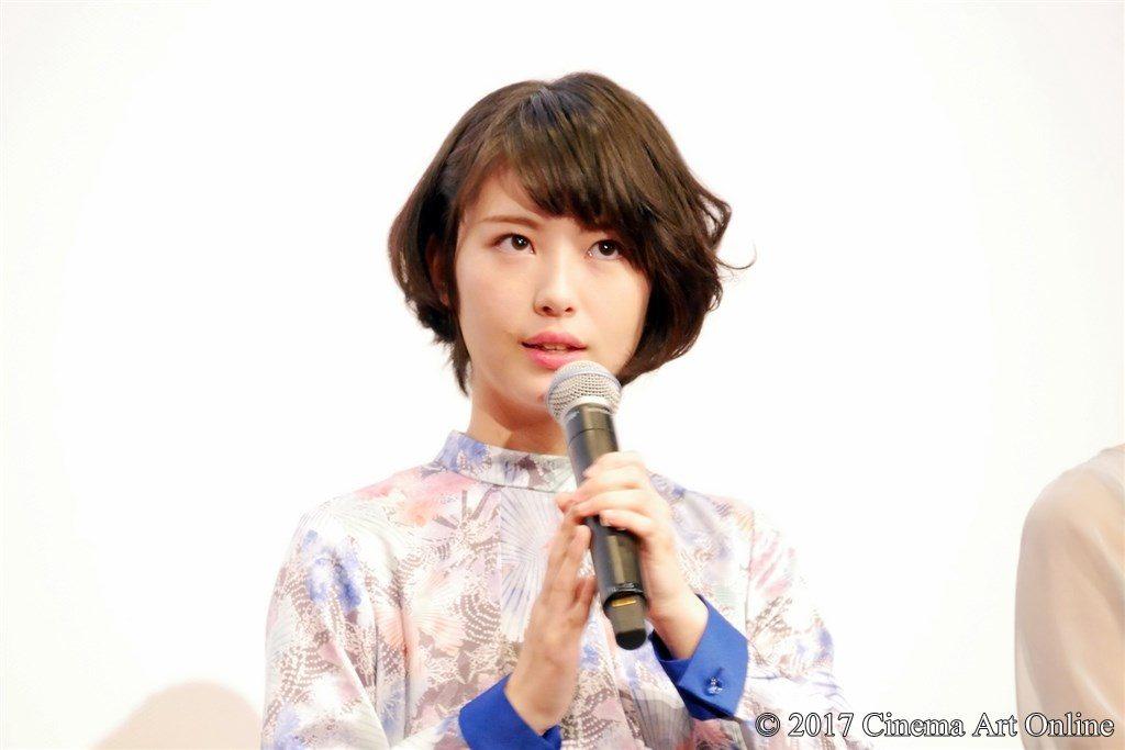 映画 「咲-Saki-」 公開記念舞台挨拶 主演 浜辺美波