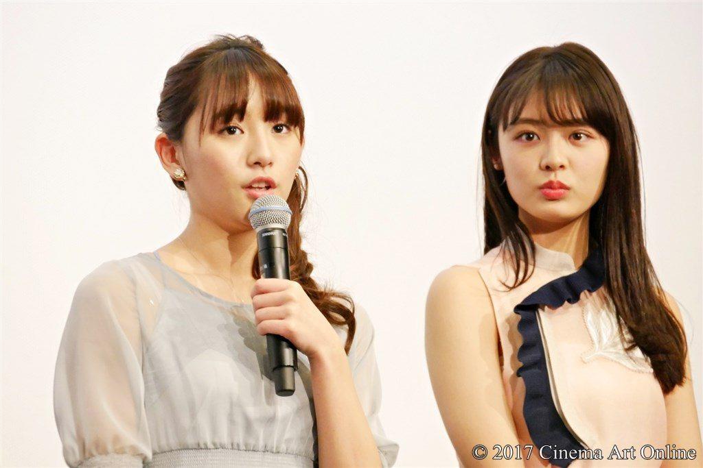 映画 「咲-Saki-」 公開記念舞台挨拶 浅川梨奈 古畑星夏